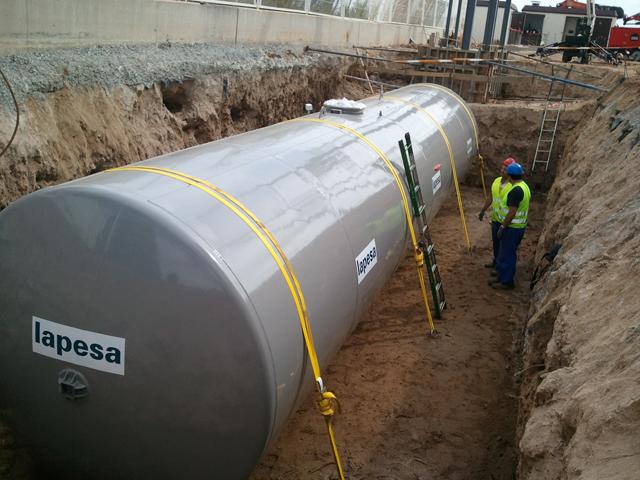 Salvador Escoda S.A. ha suministrado para el puerto de Barcelona uno de nuestros mayores depòsitos de gasoleo