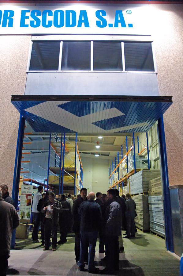 Inauguración tienda Granollers