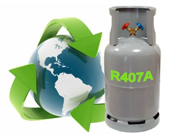 nuevo gas R407A