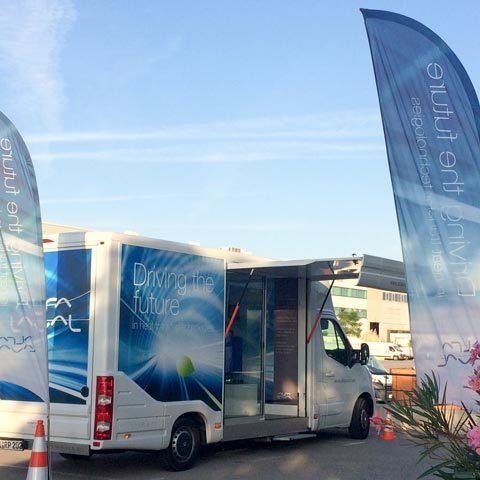La caravana de Alfa Laval
